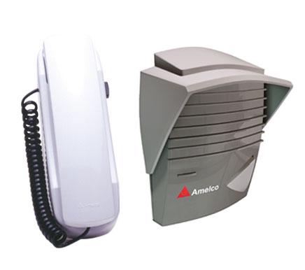 Porteiro Eletronico Residencial Amelco AM-M200 Grafite e Prata
