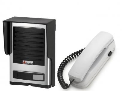 Porteiro Eletronico Residencial Amelco AM-L40 Luxo