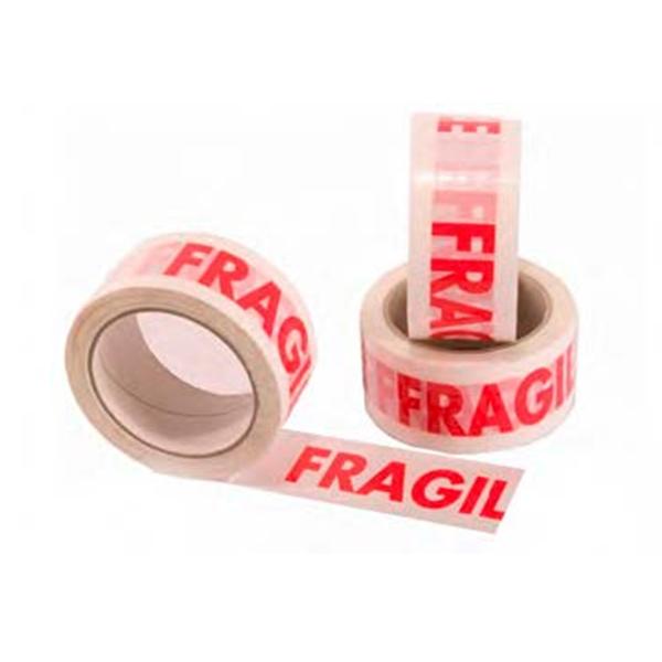 Fita Lacre CUIDADO FRAGIL 50x50m