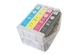 Cartucho Epson T133 Original Blister com 4 cores T1331 T1332 T1333 T1334 para os modelos TX235W TX320F TX420W TX430W