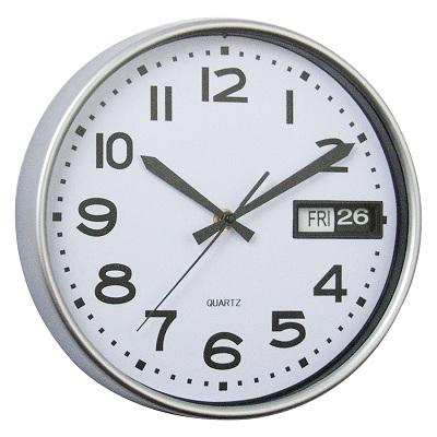 (FORA DE LINHA) Relógio de Parede Prestige Collection 25,4 x 25,4 X 4,1 cm Rojemac 9839