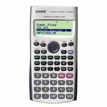 Calculadora Financeira Casio FC-100V-W-DH
