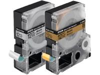 Cartucho de Fita LC-4SBM9 p/ Rotuladora Eletr�nica Epson LW300 e LW400 - 12mm / Preto no Prata