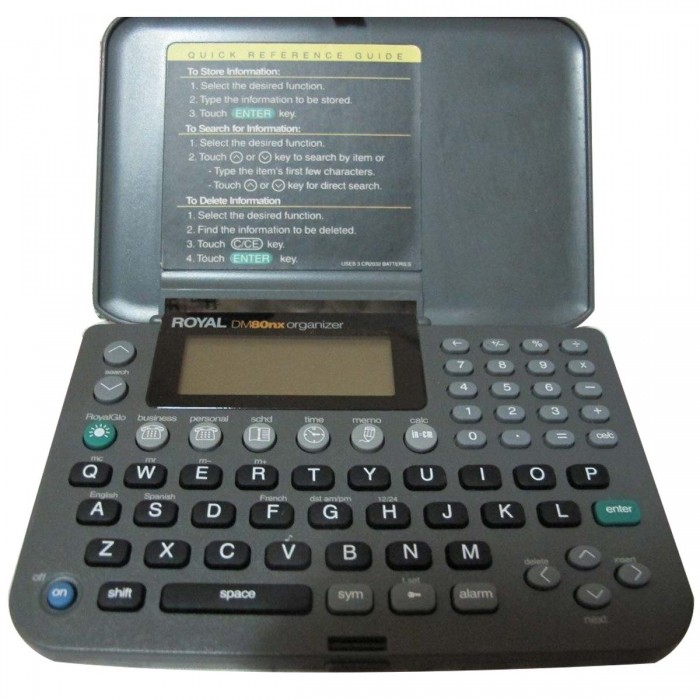 Agenda Eletrônica Casio Royal DM-80NX (Cod: 5223)