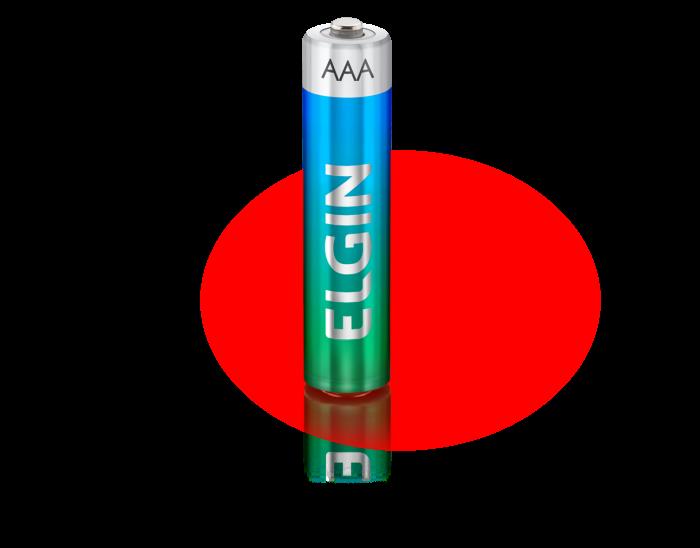 Pilha Elgin Alcalina AAA - Blister c/ 4 unidades cod. 82155