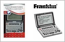 Tradutor Eletrônico Franklin FR-TVH12 - 12 línguas, Hora mundial