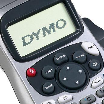 Rotulador Eletrônico Dymo Letratag Plus LT 100H imprime em 4 tamanhos de letra em até duas linhas