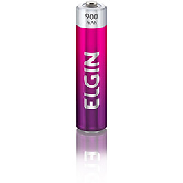 Pilha Recarregável Elgin AAA-Blister 900 mAh c/ 4 Peças cod. 82169