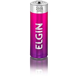Pilha Recarregável Elgin AA - Blister 2500 mAh c/ 4 cod. 82173