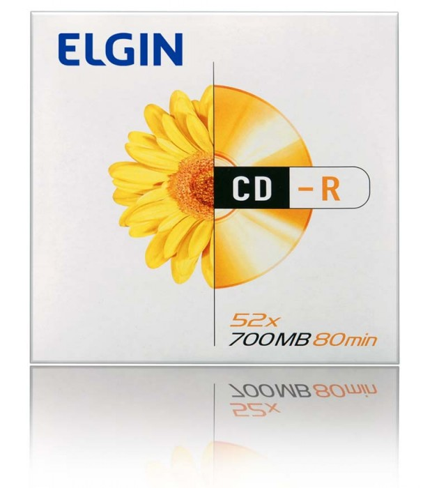 Mídia CD-R Elgin 700MB/120 min/52 X (Envelope)
