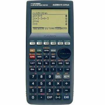 Calculadora gr�fica ALGEBRA FX 2.0 PLUS 1500 fun��es, Comunica��o c/ pc