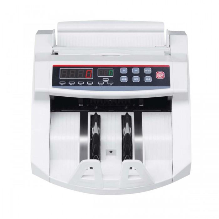 Contadora de Cédula Xinda Electronic K-2108 - Conta 1000 cédulas por minuto, detector de cédulas falsas UV e MG