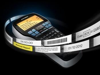 Rotulador Eletrônico Profissional Dymo Label Manager 420P Imprime código de barras, conexão USB