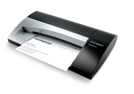 Scanner de cart�o de visitas Dymo CardScan Dymo Executive vers�o 9 digitaliza��o colorida