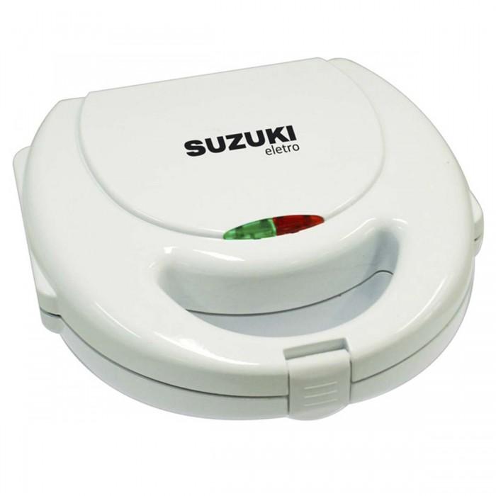 Sanduicheira Suzuki SZ-286 - luz indica��o preparo, antiaderente, 127V