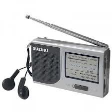 Radio Suzuki SZ-557 acompanha fone de ouvido + Carregador de Pilhas
