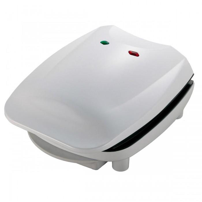 Grill Suzuki SZ-8015 Branco - Placa antiaderente, Luz indicadora de energia, Bandeja Coletora de Gordura, Espátula p/ Limpeza, 700W, 127V