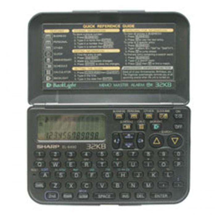 Agenda Eletr�nica Sharp EL6490 - 32KB (Cod:5531)