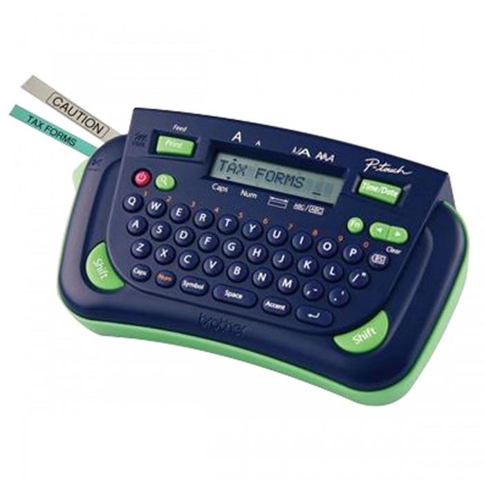 Rotulador Eletrônico Brother PT80 - Fitas de 9mm e 12 mm, Impressão 230dpi, 8 estilos de letra, Impressão vertical