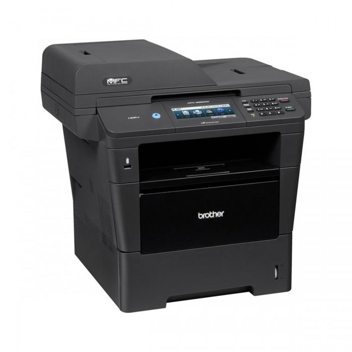 Multifuncional Laser Brother DCP-8157 - Compacta, Monocromática, com Rede e Duplex, Velocidade de Impressão: 40 ppm