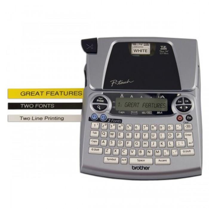 Rotulador Eletrônico Brother PT-1880 - Impressão 180 dpi, Velocidade de Impressão: 10mm/seg, Teclado Qwerty