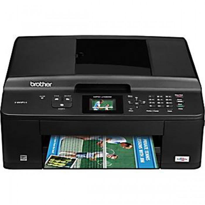 Multifuncional Jato de Tinta Brother MFC-J430W -  Alimentador Autom�tico de Documentos, Rede Wireless, Imprime at� 2500 p�ginas/m�s