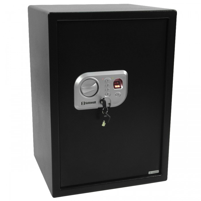 Cofre Safewell Fingerprint Safe 50FPN - c/ Leitor de Impress�o Digital, Medidas Externas (AxLxP): 500x350x310mm, Peso: 19kg