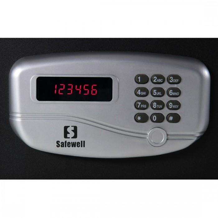 Cofre p/ Hotel Safewell 195 JA - Medidas Externas (AxLxP): 195x430x370mm, Capacidade: 25L, Peso: 10Kg