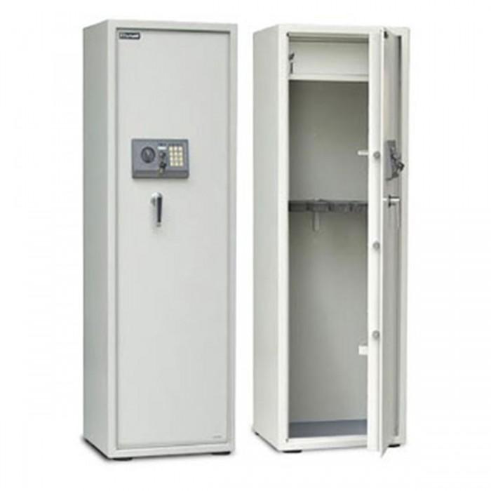 Cofre p/ Armas Safewell 1450 BQG-8 - Medidas Externas (AxLxP): 1450x488x360mm, Estante Removível, Capacidade: 250L