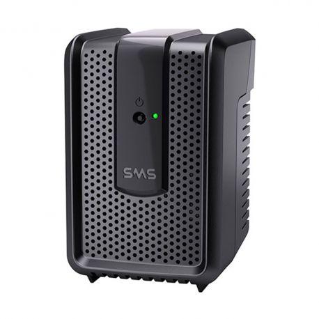 Estabilizador SMS Speedy Usp 300va - Entrada/Saída: 115v, Preto, 4 Tomadas