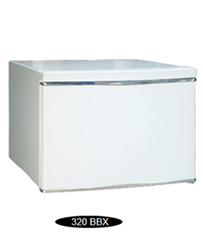 Cofre Safewell Refrigerator Safe 320BBX - Medidas Externas (AxCxP): 320x450x460mm, Capacidade: 50L, dois códigos de 4 a 18 dígitos cada um