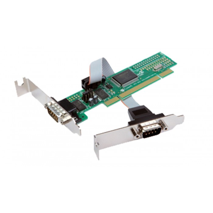Placa PCI Comm5 2SA-PCI-SLIM - 2 saídas seriais RS232 Low Profile