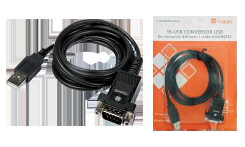 Conversor Comm5 1S-USB-INT - Converte USB interno para 1 saída serial RS232