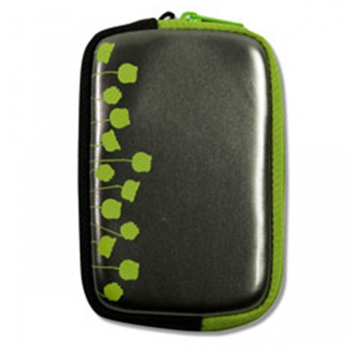 Estojo Acme Made Cool Little Case AM00772 - p/ c�mera compacta, detalhe estampa floral na cor verde
