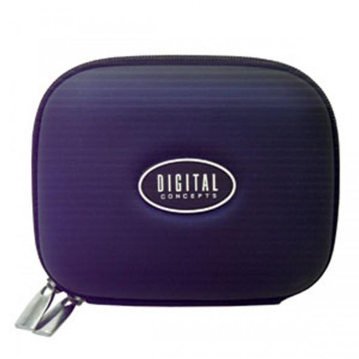 Estojo D-Concepts HS50 - estojo rígido p/ câmera digital, medidas (AxLxP): 10,0x13,0x6,5cm