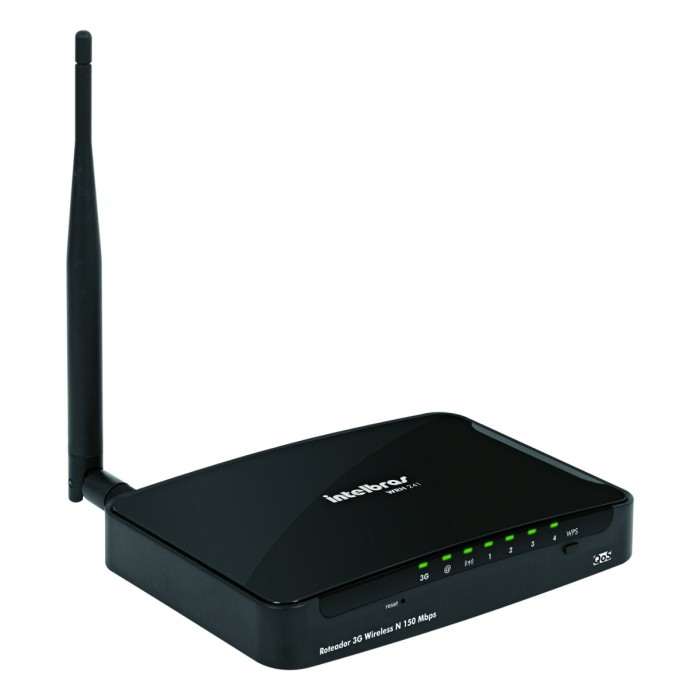 Roteador Intelbras Wireless WRH241 3g Usb 150mbps