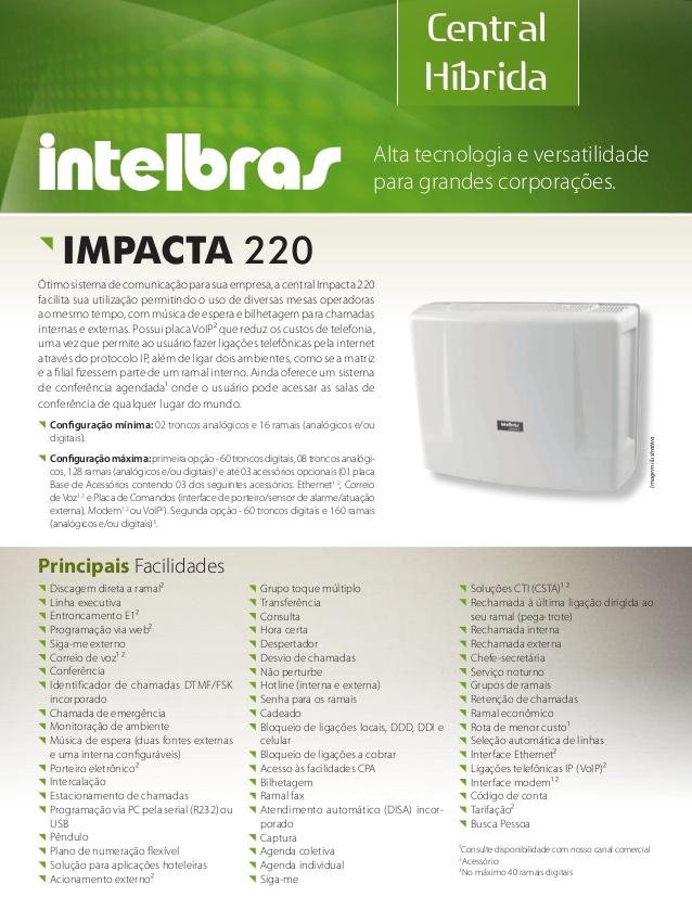 Software Intelbras Hotelaria Standard
