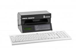 Impressora de Cheque Chronos Multi-32000 (ACC 600) - c/ teclado de computador