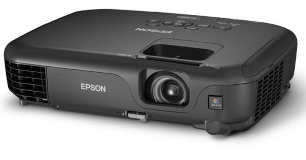 Projetor Epson Powerlite S12+ 2800 ANSI Lumens - SVGA (800x600)