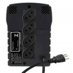 Estabilizador SMS Speedy Usp 300 Va Entrada Bivolt/Saida 115V Preto 4 tomadas s/ Adaptador