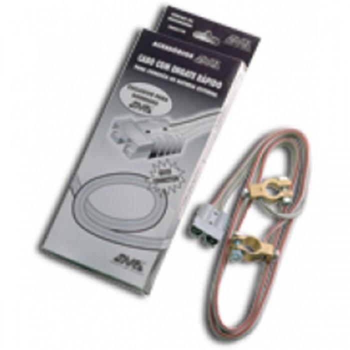Cabo SMS p/ Conexao De Bateria Externa Com Conector