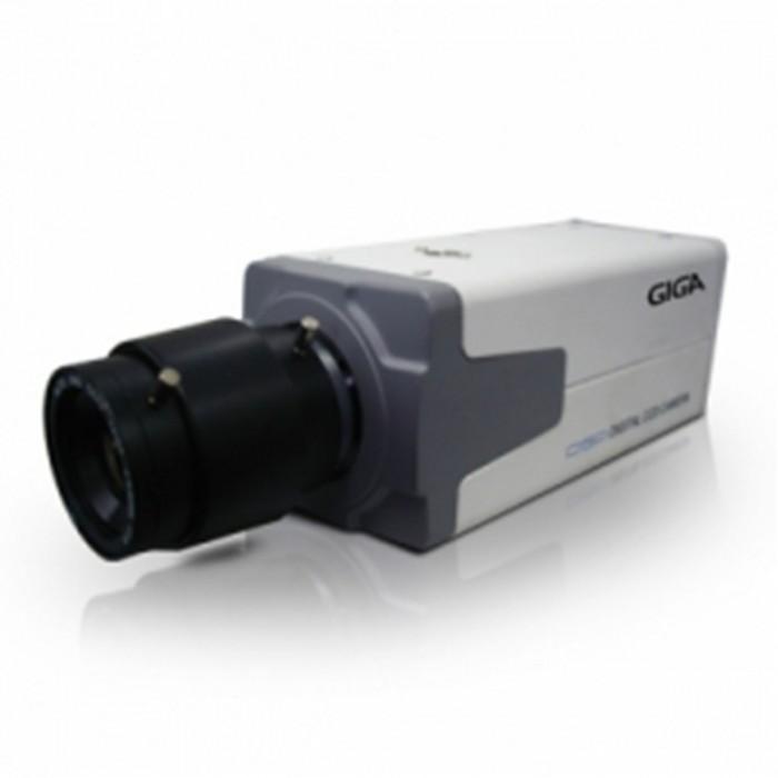 Câmera Profissional Giga Security CCD 1/3 Sony Effio 700 TVL - S/ lente
