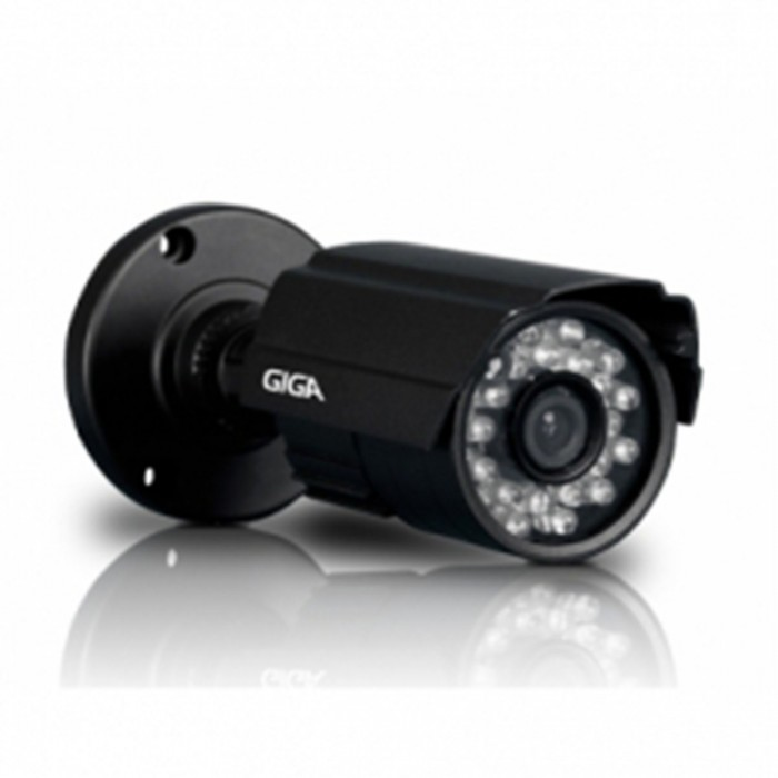Câmera Giga Security IR Day Night Infra 13 15 MT Lente 2,8 MM GS1315S28