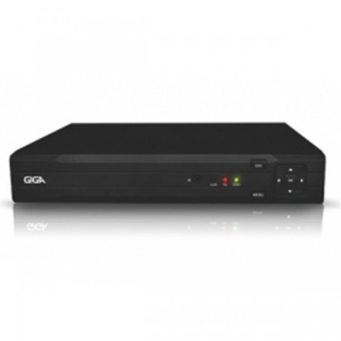 Gravador Digital de Áudio e Vídeo HVR Giga Security - 4 Canais Gs 04 DVR