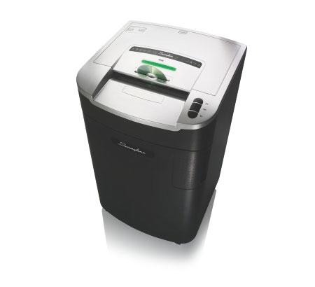 Fragmentadora de Papel Swingline LX20-30 - Corta até 20 fls em Partículas N3, CD/ DVD/ Cartão/ Clipes/ Grampos, Cesto: 115L, Fenda: 254mm, Funcionamento: Contínuo