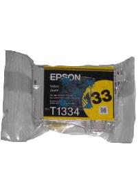 Cartucho de Tinta Amarela Durabrite Ultra Epson Original T133420-BR p/ Stylus T25 / TX123 / TX125 / TX320F / TX420W (Cod: 6606)