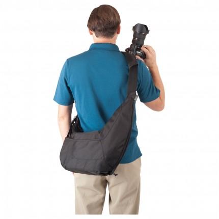 Bolsa Lowepro Passport Sling Back p/ Câmera DSLR e Acessórios
