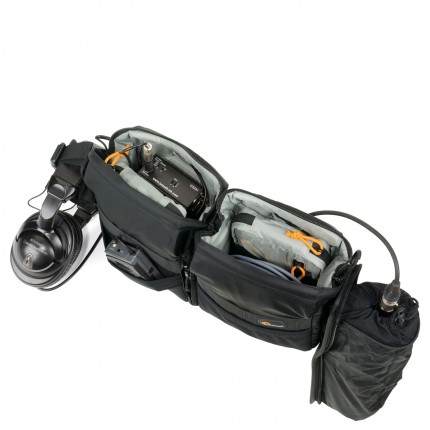 Estojo Lowepro p/ Áudio S&F Áudio Utility Bag 100