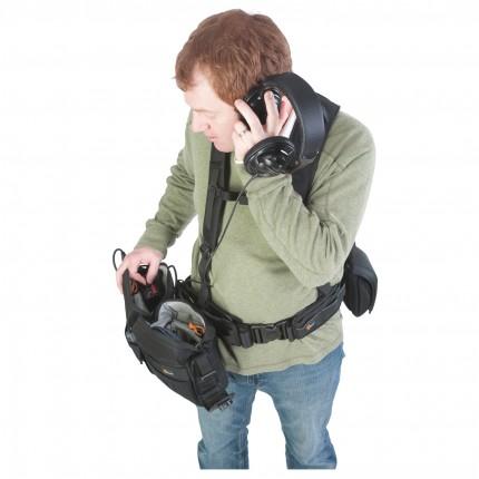 Estojo Lowepro p/ Áudio S&F Áudio Utility Bag 100