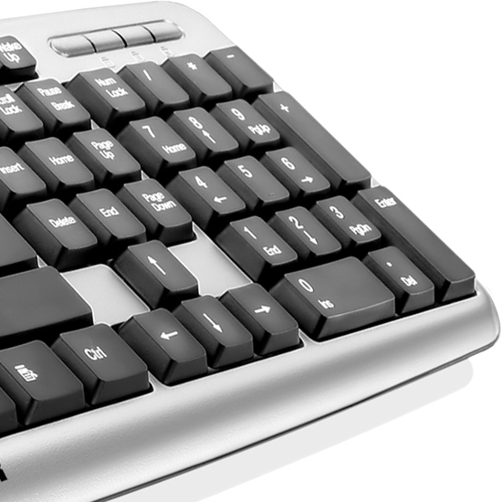 Teclado Multilaser USB Básico TC067